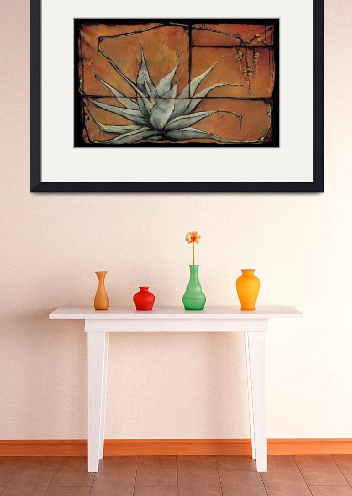 """""""Agave - Ikebana&quot  by OpieSnowPrints"""
