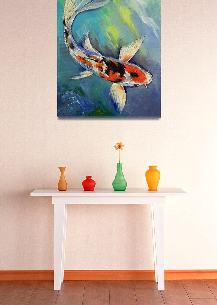 """""""Showa Butterfly Koi&quot  by creese"""