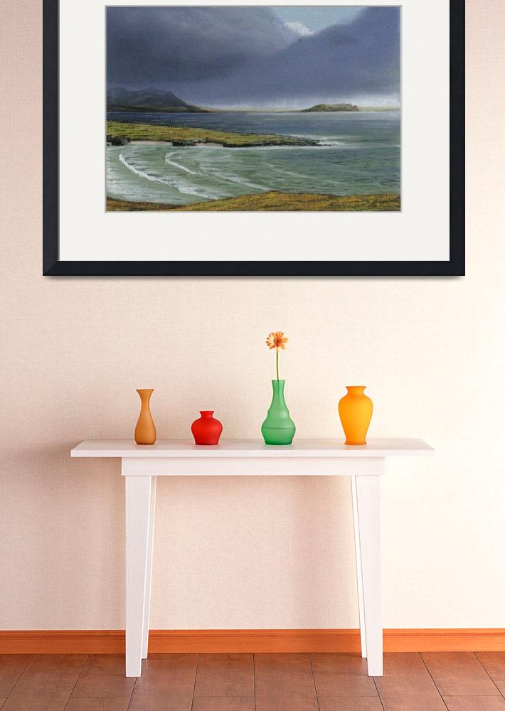 """""""View from Knockamany bends,Malin Estuary,County Do&quot  by Irishpaintings"""
