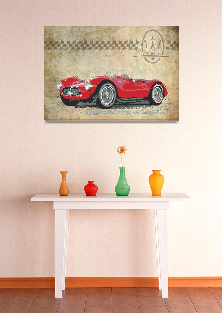 """""""Maserati A6 GCS&quot  (2012) by getshaped"""