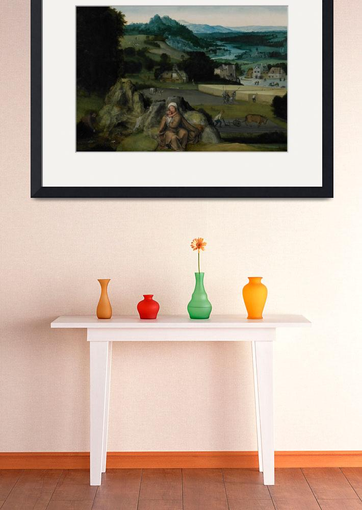 """""""The Rest on the Flight into Egypt (The Miraculous""""  by fineartmasters"""