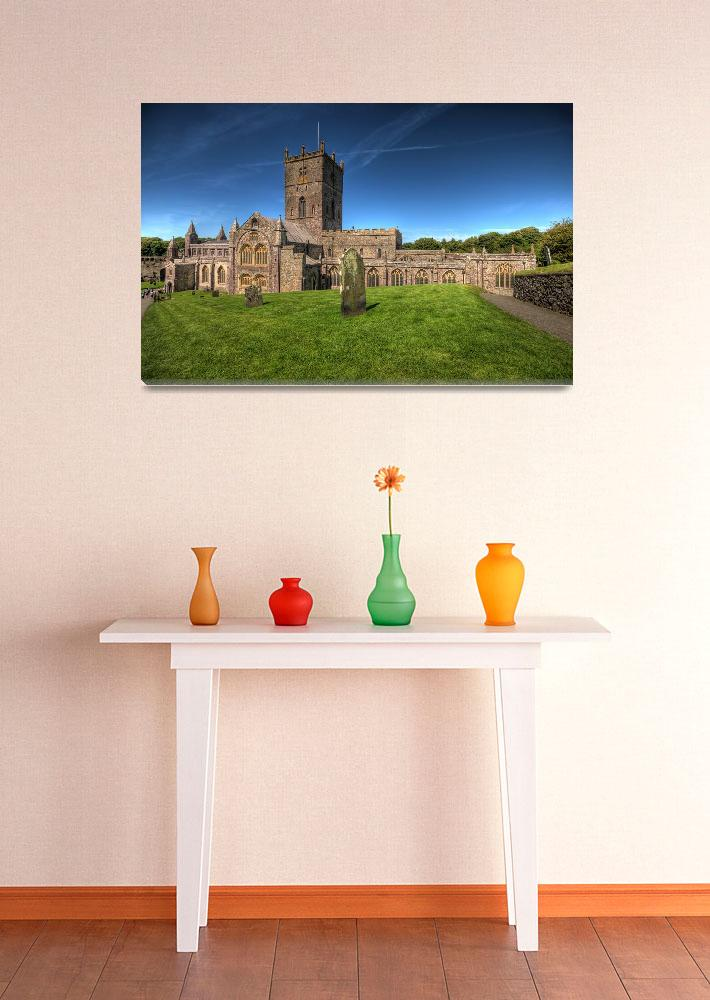 """""""St Davids Cathedral Pembrokeshire&quot  by StevePurnell"""