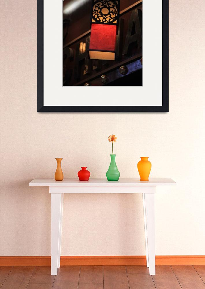 """""""Chinese lamp in London&quot  (2012) by easyfigure"""