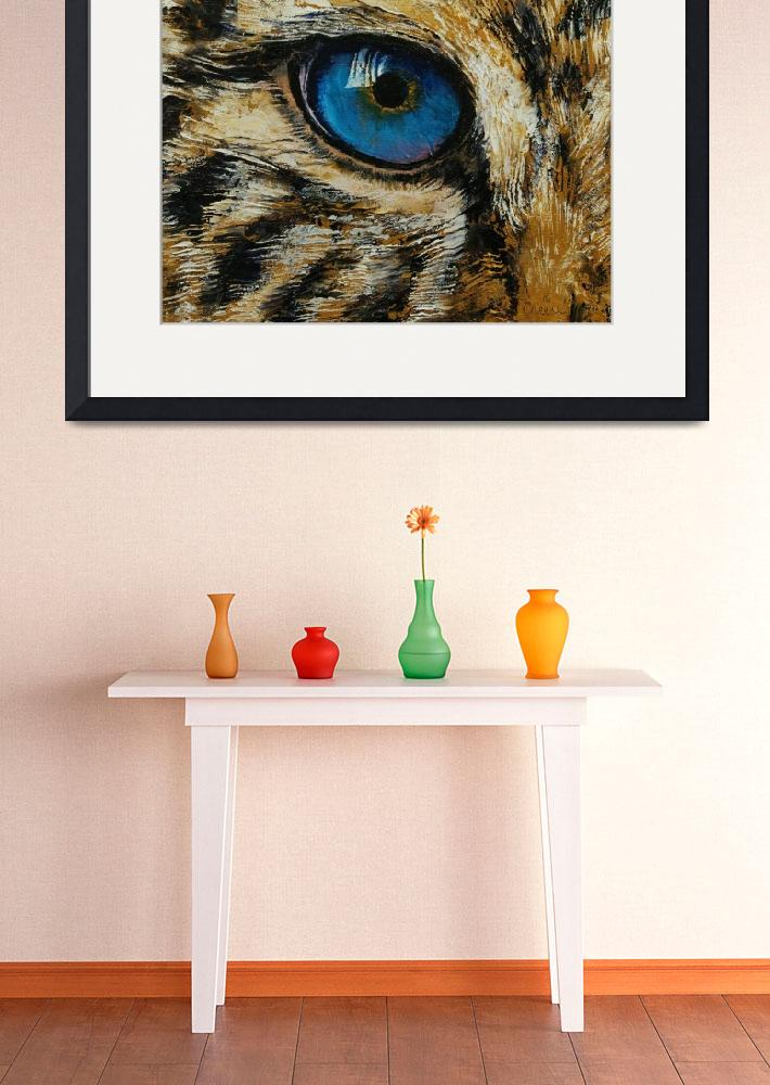 """""""Leopard Eye&quot  by creese"""