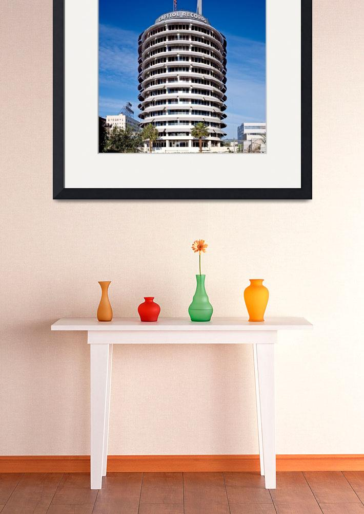 """""""Capitol Records Building Los Angeles&quot  (2011) by dotpattern"""