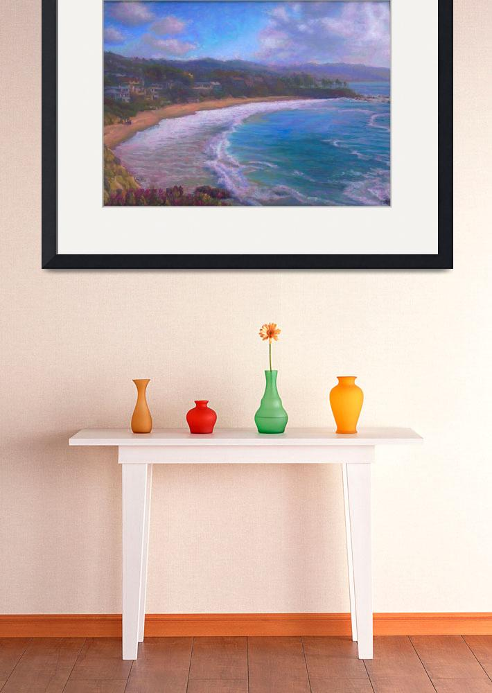 """Laguna Beach&quot  (2012) by NoWallsStudio"