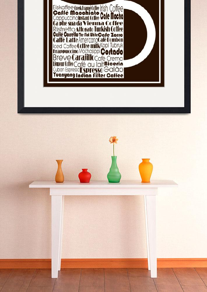 """""""Coffee Drinks""""  (2015) by TrudyClementine"""