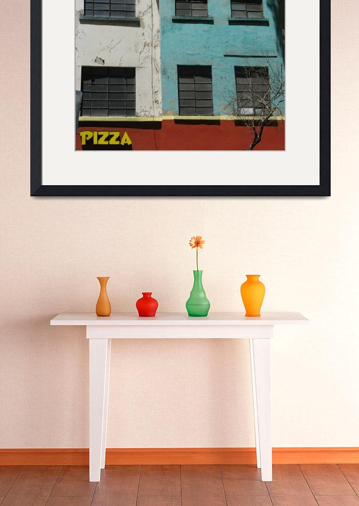 """""""Mexico City:  Pizza&quot  (2009) by Evilkid"""