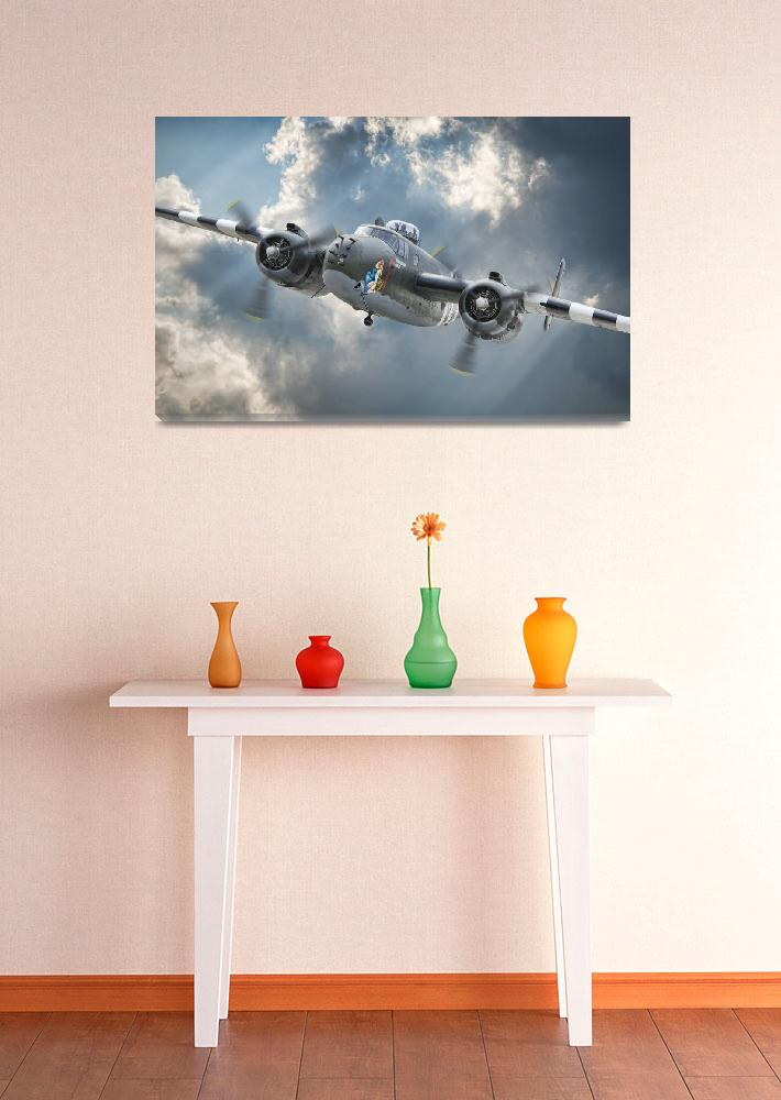 """B-25 Mitchell ""Hot Gen""&quot  (2012) by JeffStephenson"