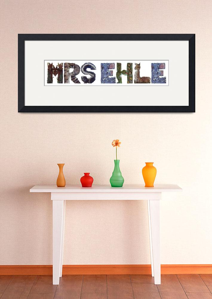 """""""Mrs Ehle&quot  by animalsoup"""