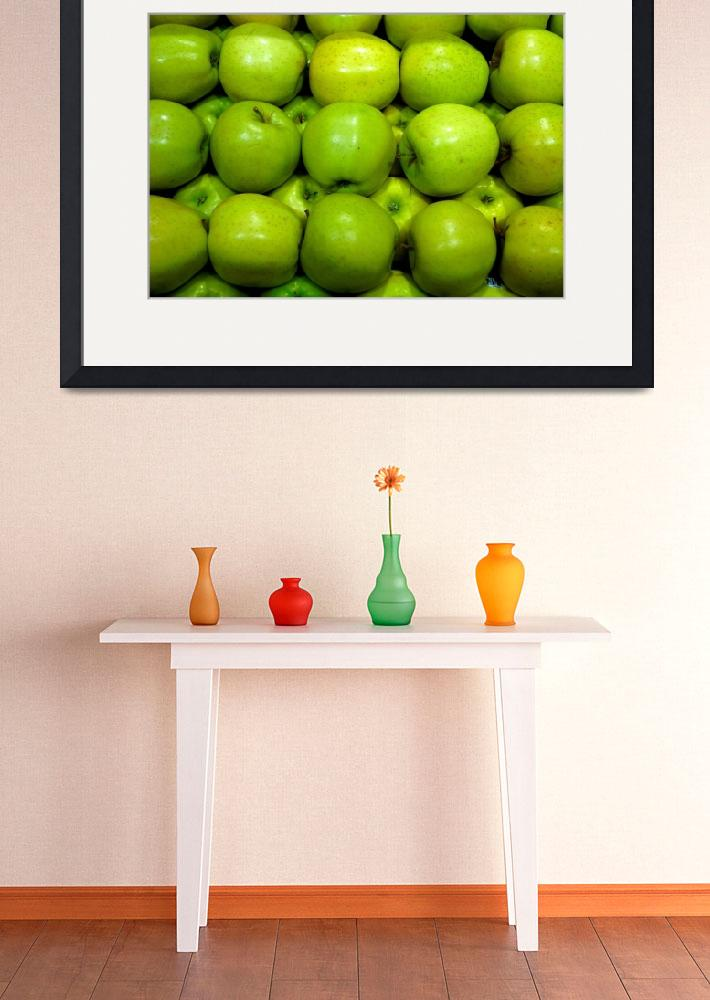 """""""Green Apples&quot  (2014) by robertmeyerslussier"""