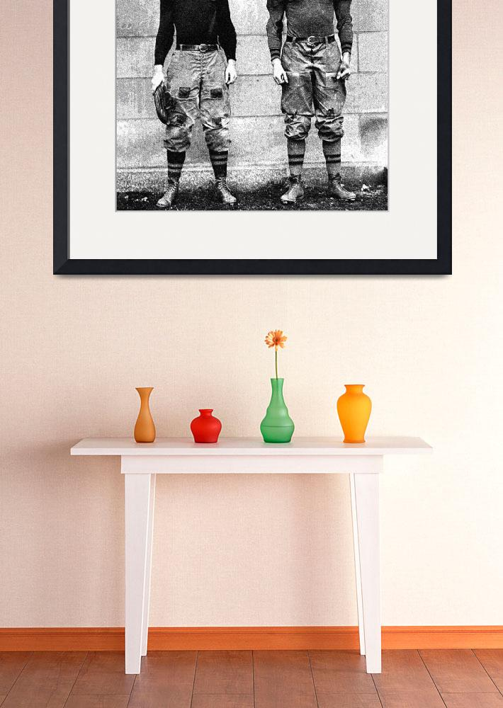 """""""West Point football players Charles Love Mullins J&quot  by motionage"""