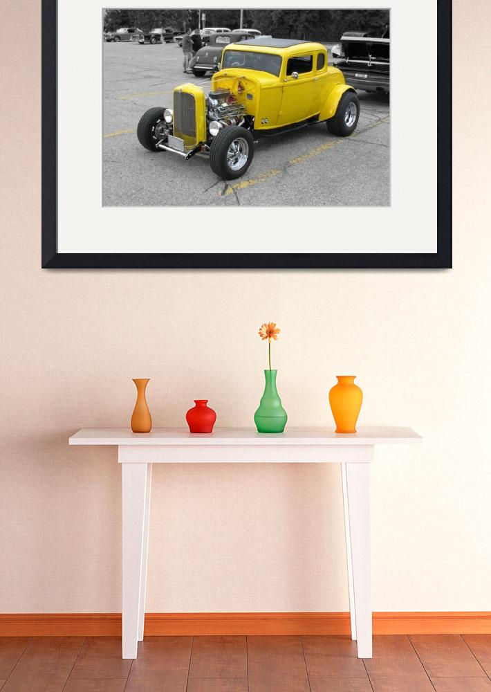 """""""Yellow Coupe Hot Rod Ultra&quot  (2011) by NorthPointImages"""