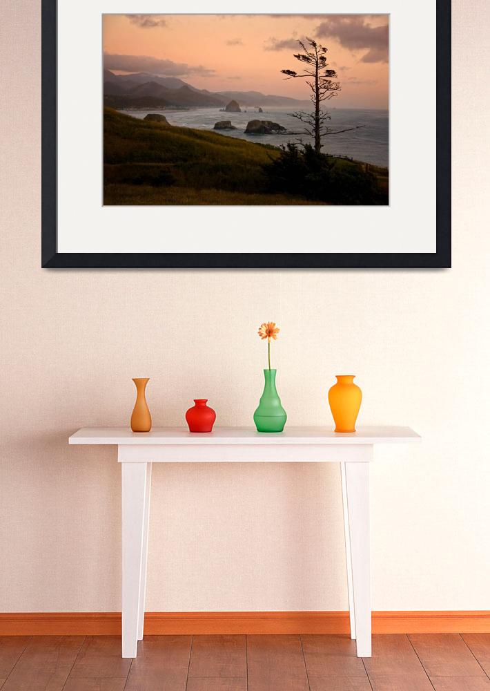 """""""Cannon Beach from Ecola Point""""  (2008) by pbk"""