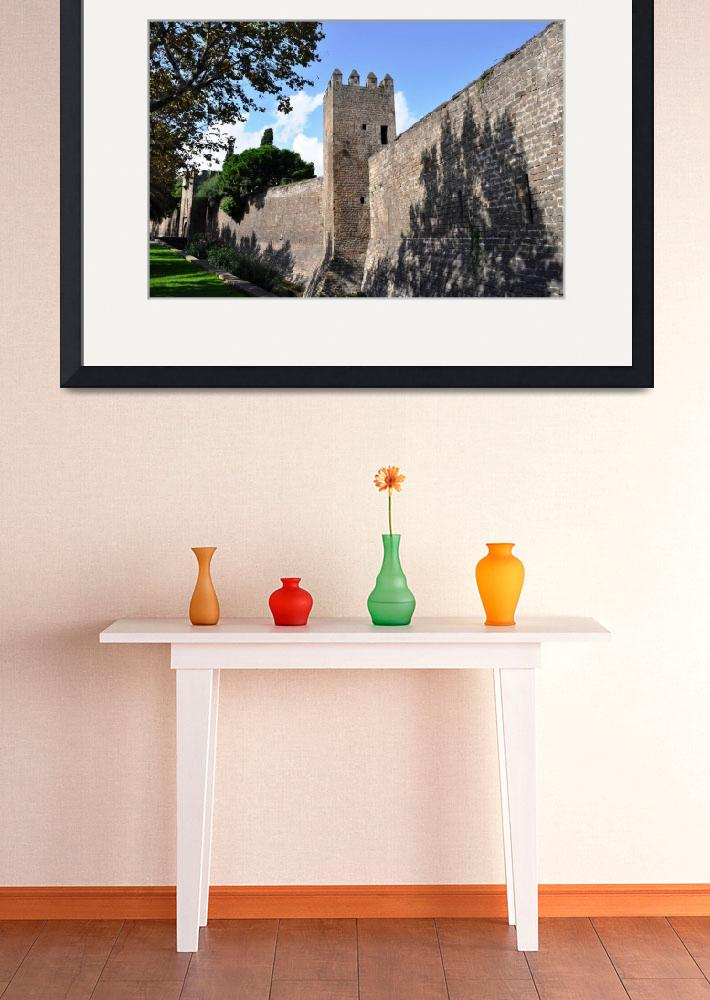 """""""Barcelona City Wall&quot  (2010) by Johnson-Miles"""