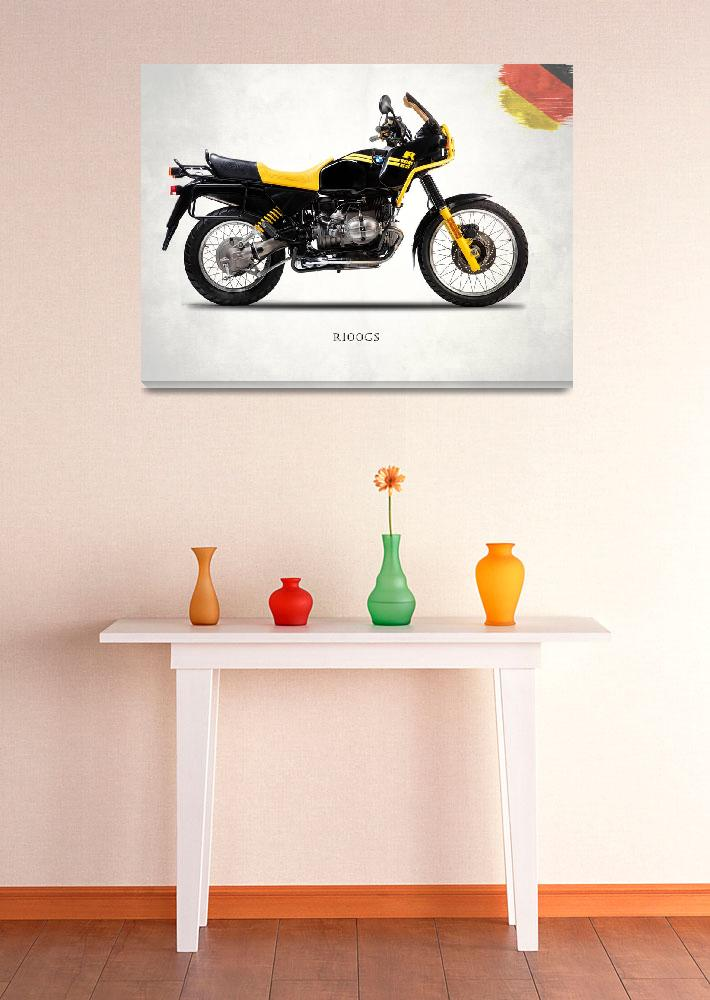"""""""The R100GS 1991&quot  (1991) by mark-rogan"""