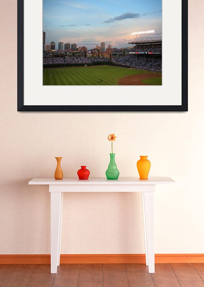 """""""Beautiful Day at Wrigley Field&quot  (2008) by BigSkyVIP"""