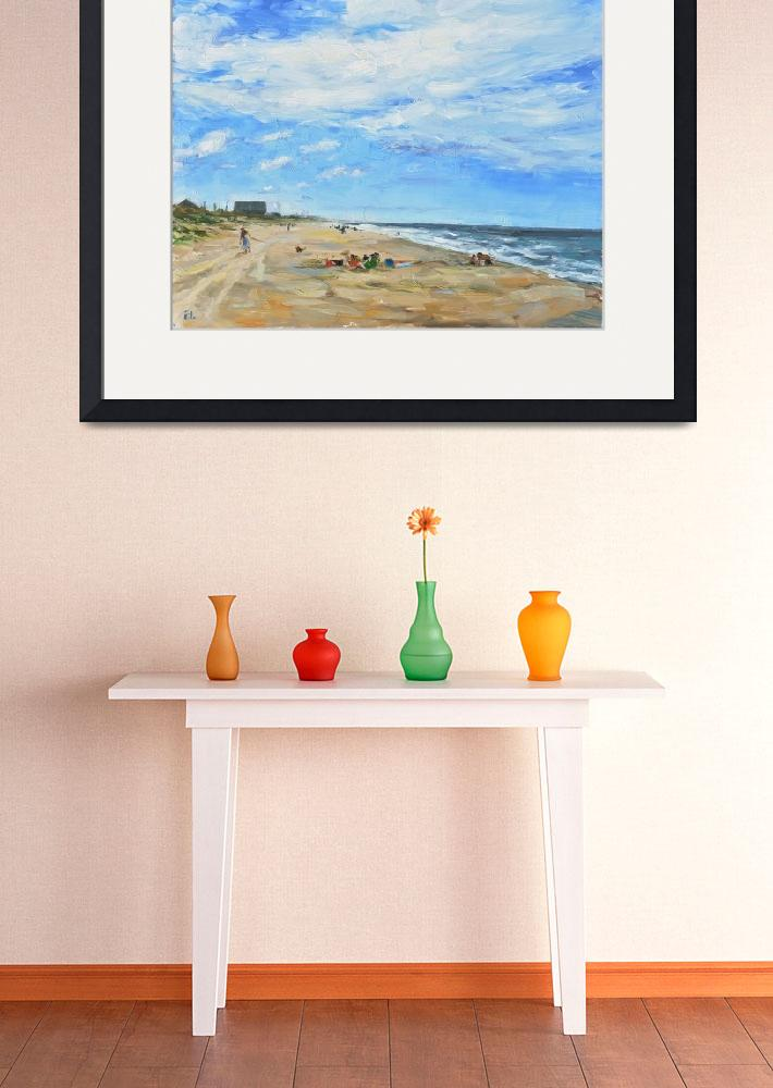 """Afternoon at the Beach&quot  (2013) by amydonahuefineart"