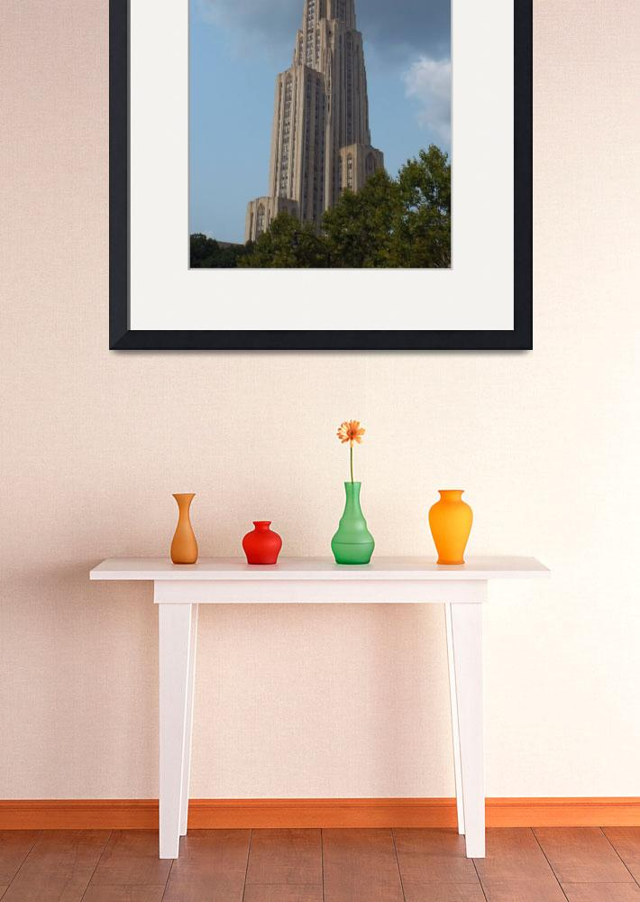 """""""Cathedral of Learning&quot  by byoung14"""