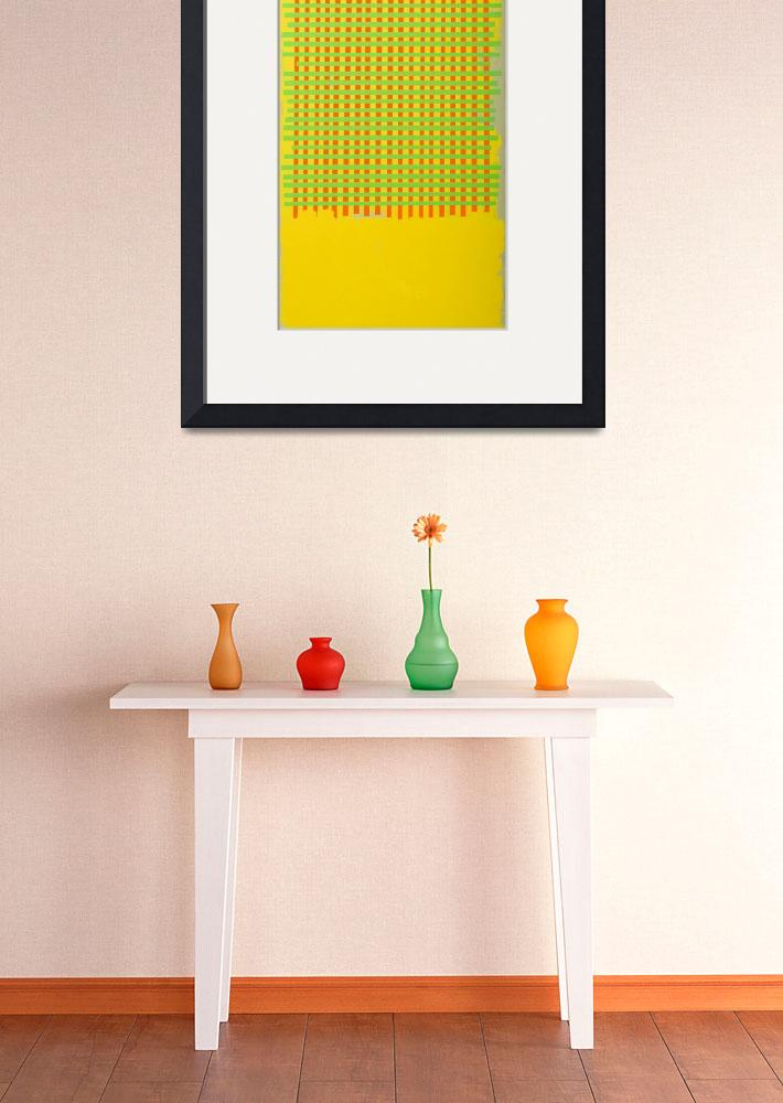 """""""yellow grid&quot  by michaelcallaghan"""
