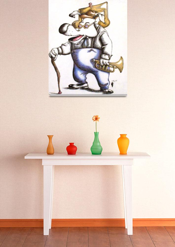 """""""Want to blow my horn&quot  (2006) by troyt55"""