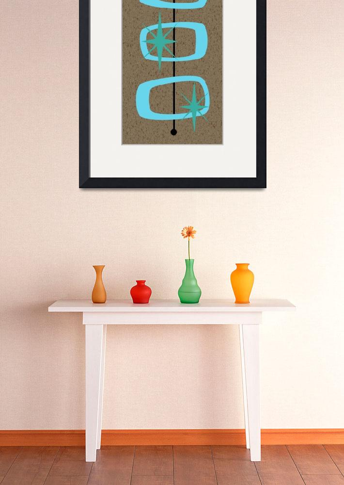 """Mid Century Modern Shapes 1&quot  by DMibus"