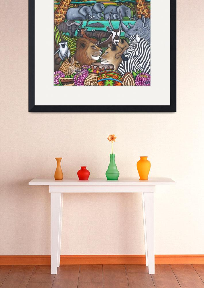 """""""Colours of Africa""""  (2014) by LisaLorenz"""