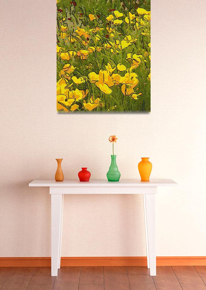 """""""the Yellow Flowered Path&quot  (2006) by garlanddunston"""