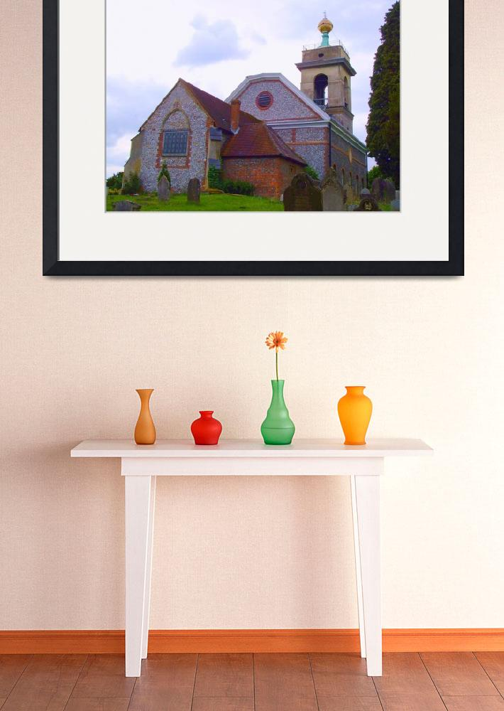 """""""The Golden Ball, St. Lawrence Church, West Wycombe&quot  (2009) by OooBabyBaby"""