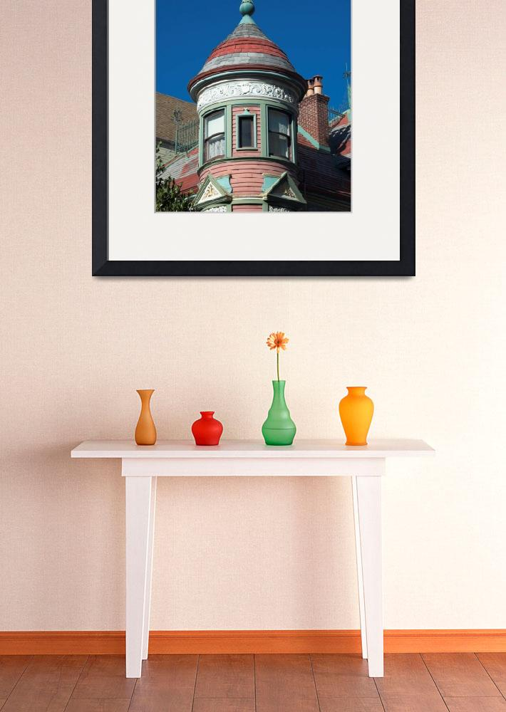 """""""Victorian House detail, San Francisco&quot  by canbalci"""