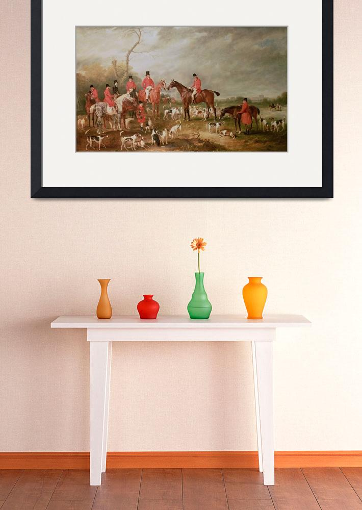 """""""The Birton Hunt""""  by fineartmasters"""