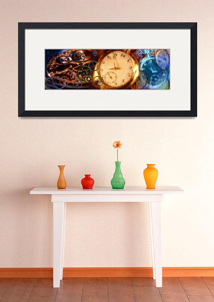 """""""Clock and Gears&quot  by Panoramic_Images"""