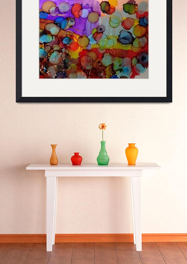 """Playing with colour&quot  by anneberrysmith"