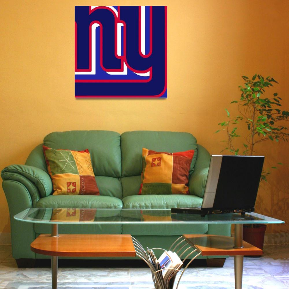 """New York Giants Football 3""  (2013) by RubinoFineArt"