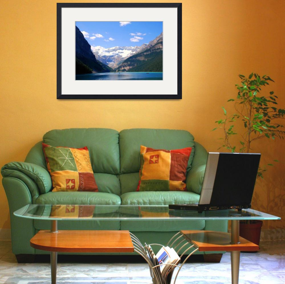 """""""Banff National Park Lake Louise Alberta Canada&quot  by MarculescueugeniancuD60AK"""