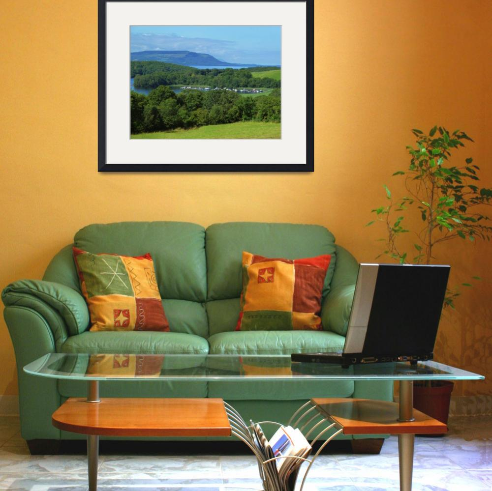 """""""Lough Erne Viewpoint&quot  (2012) by JMcCoubreyPhotography"""