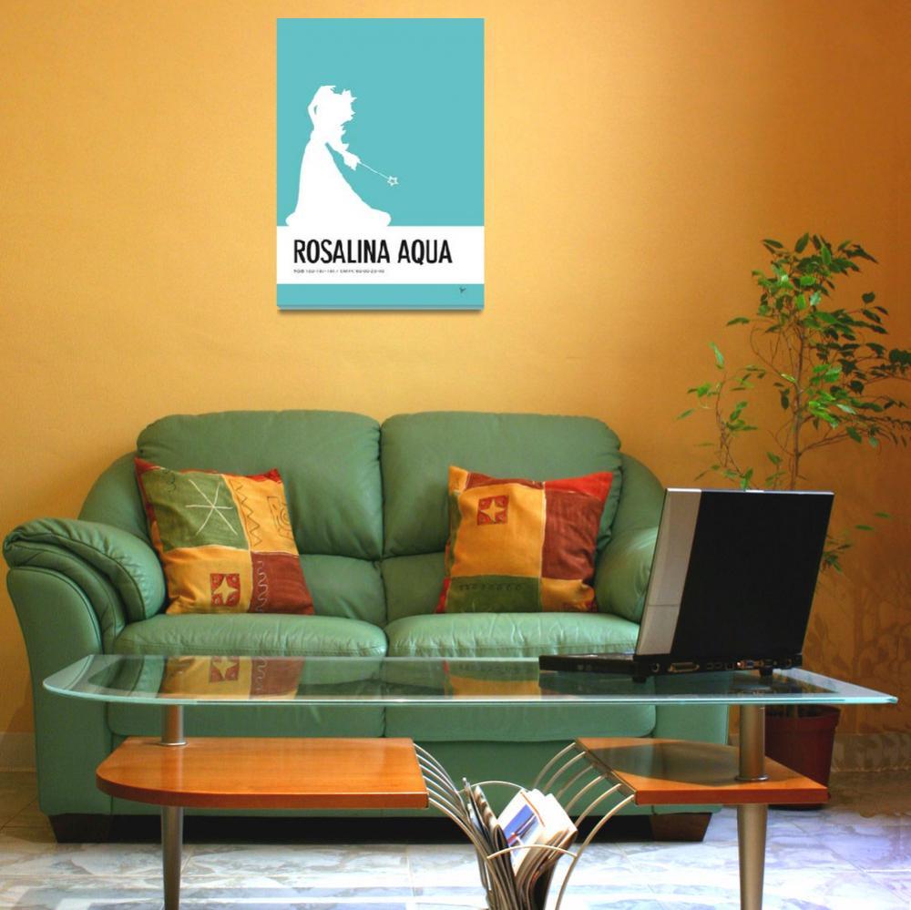"""""""No39 My Minimal Color Code poster Rosalina""""  by Chungkong"""