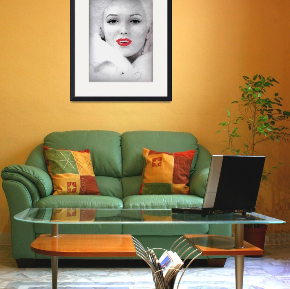 """""""Marilyn Monroe&quot  (2011) by JordanMitts"""