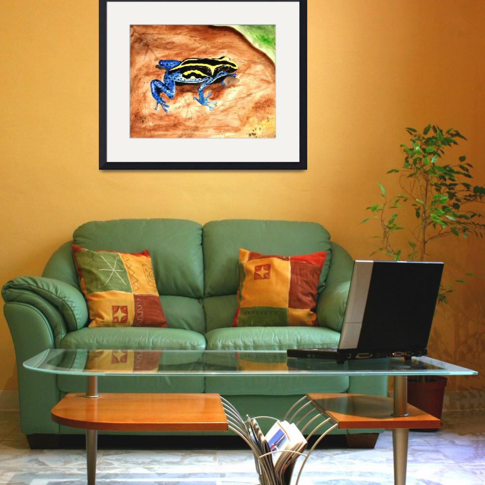 """""""Poison Frog&quot  (2010) by Blarney333"""