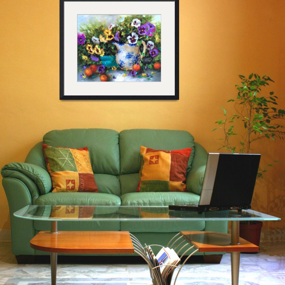 """""""Pansy Party with Cuties&quot  by NancyMedina"""