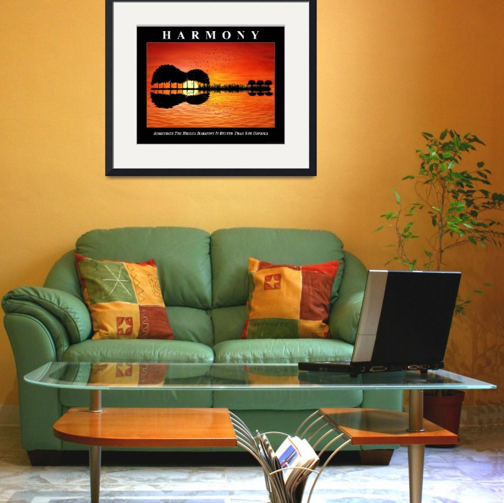 """""""HARMONY-GUITAR ETSY DOWNLOAD""""  (2019) by Encouragingimages"""