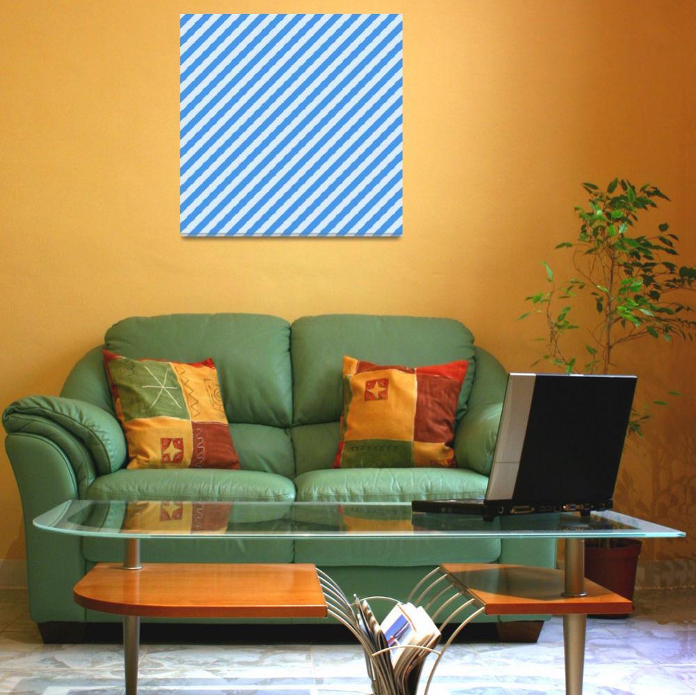 """Blue Stripes""  (2011) by ArgosDesigns"