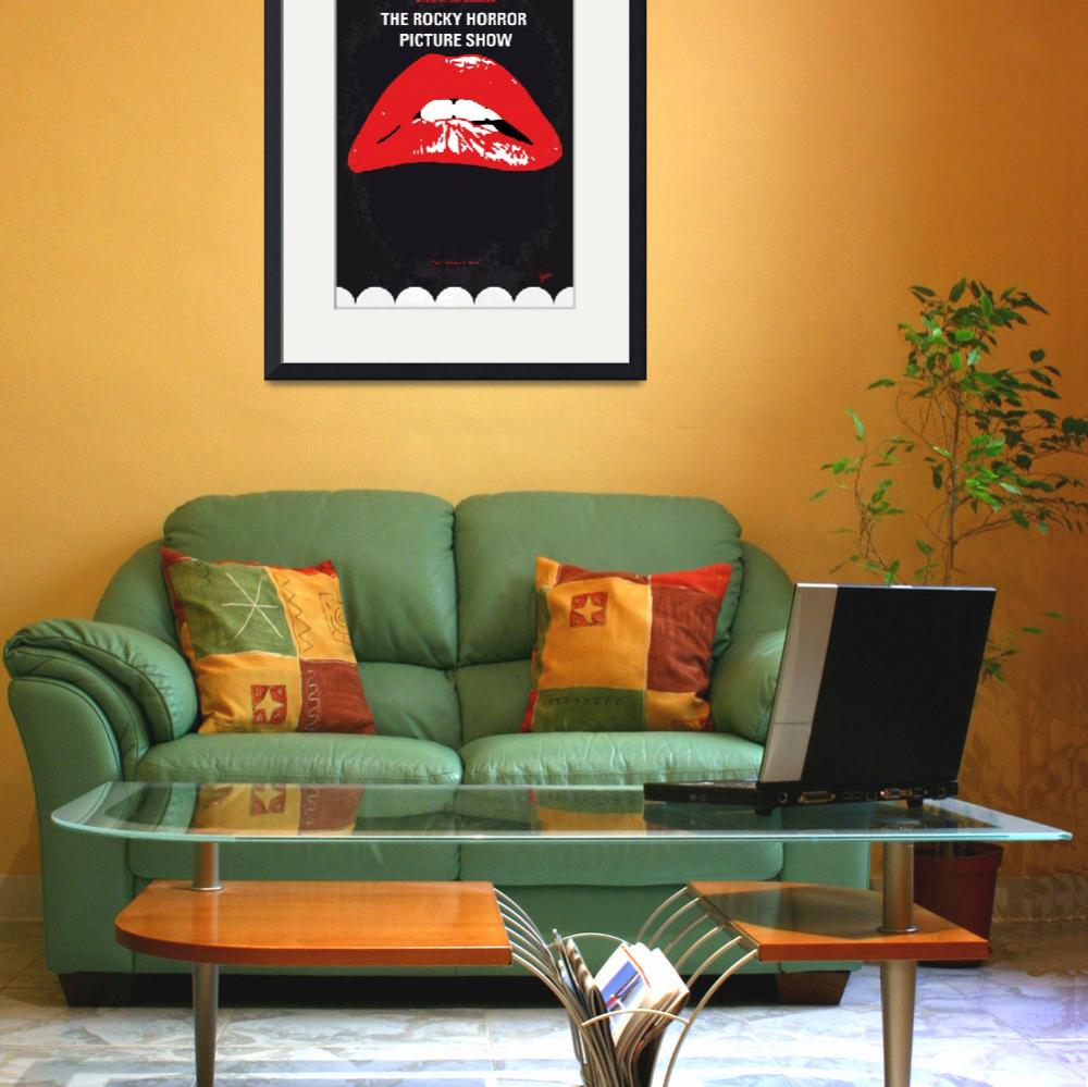 """""""No153 My The Rocky Horror Picture Show minimal mov&quot  by Chungkong"""