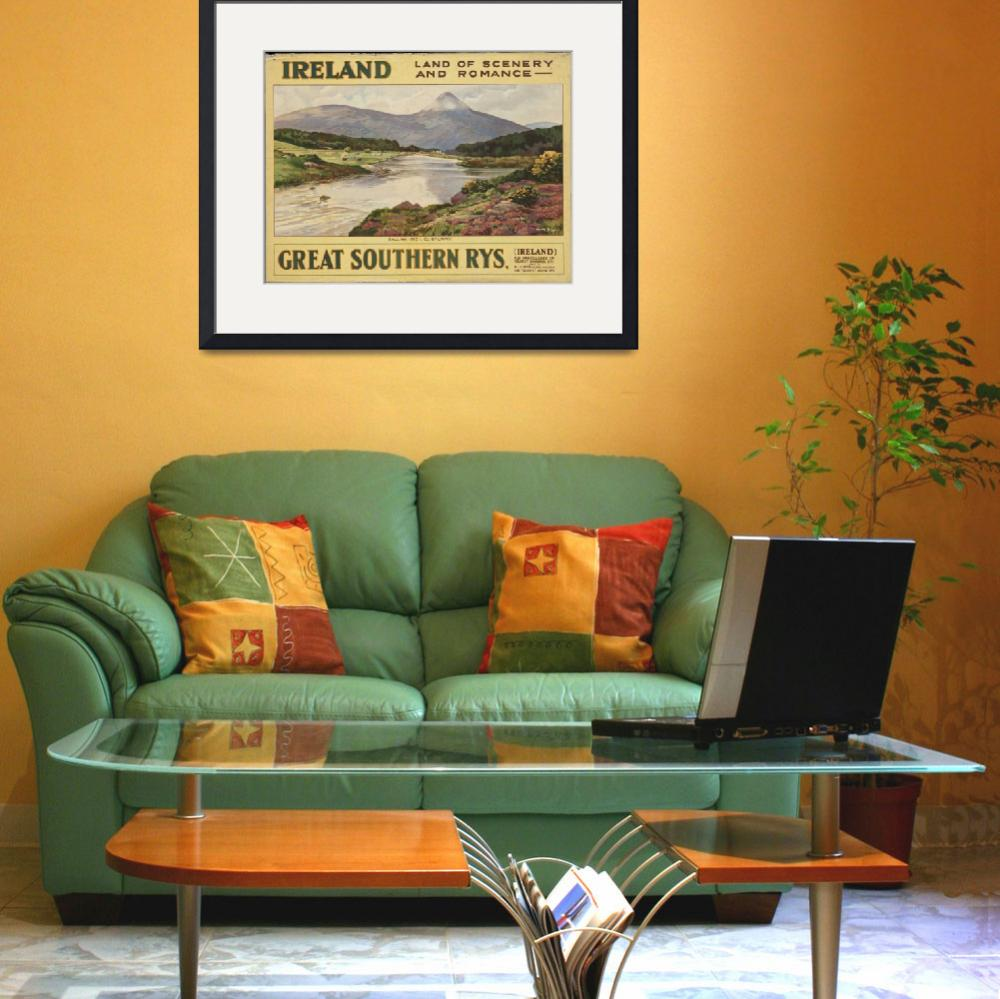 """""""Vintage poster - Ireland&quot  by mosfunky"""