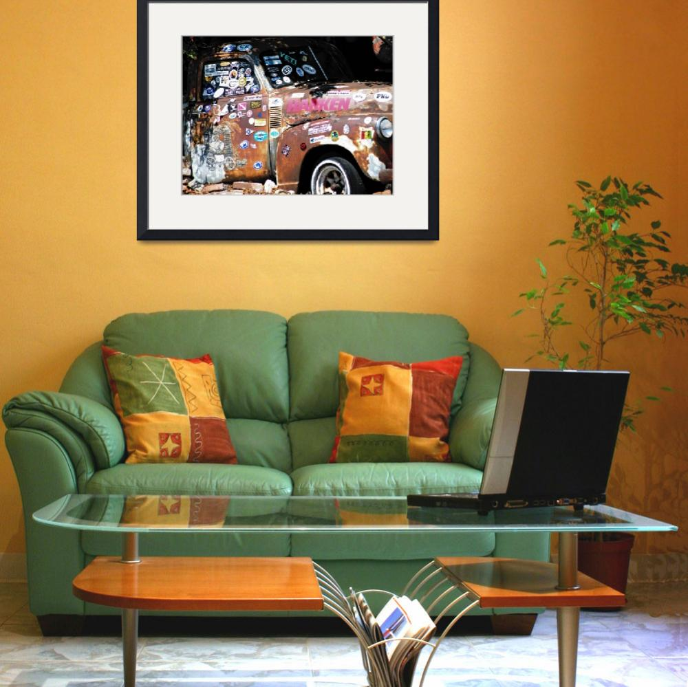 """""""Rusty Truck""""  (2011) by duncanrowe"""