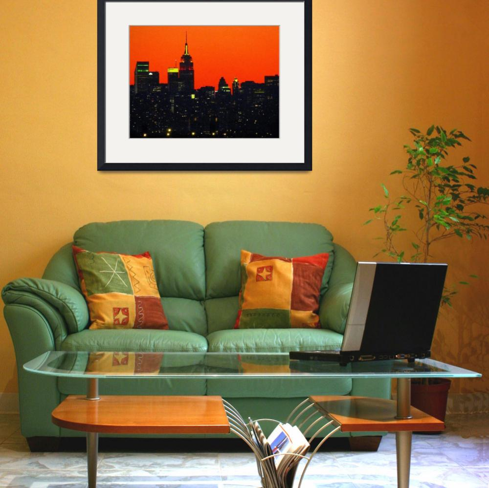 """New York City&quot  (2011) by biriart"