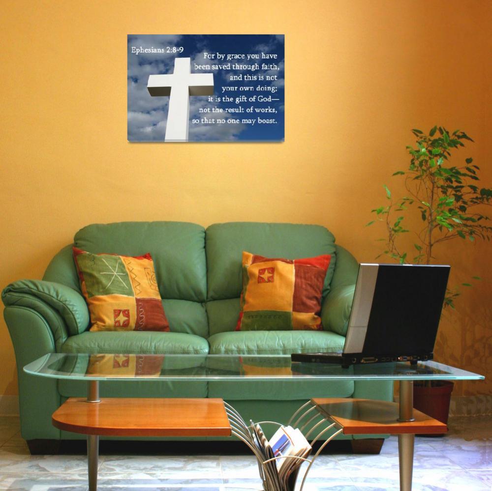 """Ephesians 2:8-9""  (2011) by debsmemories"
