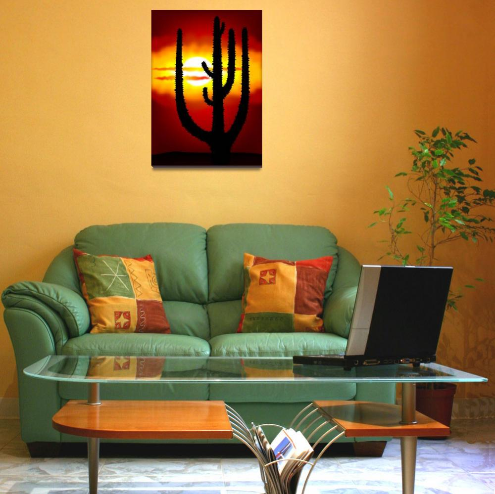 """""""Mexico sunset""""  (2011) by lamich"""