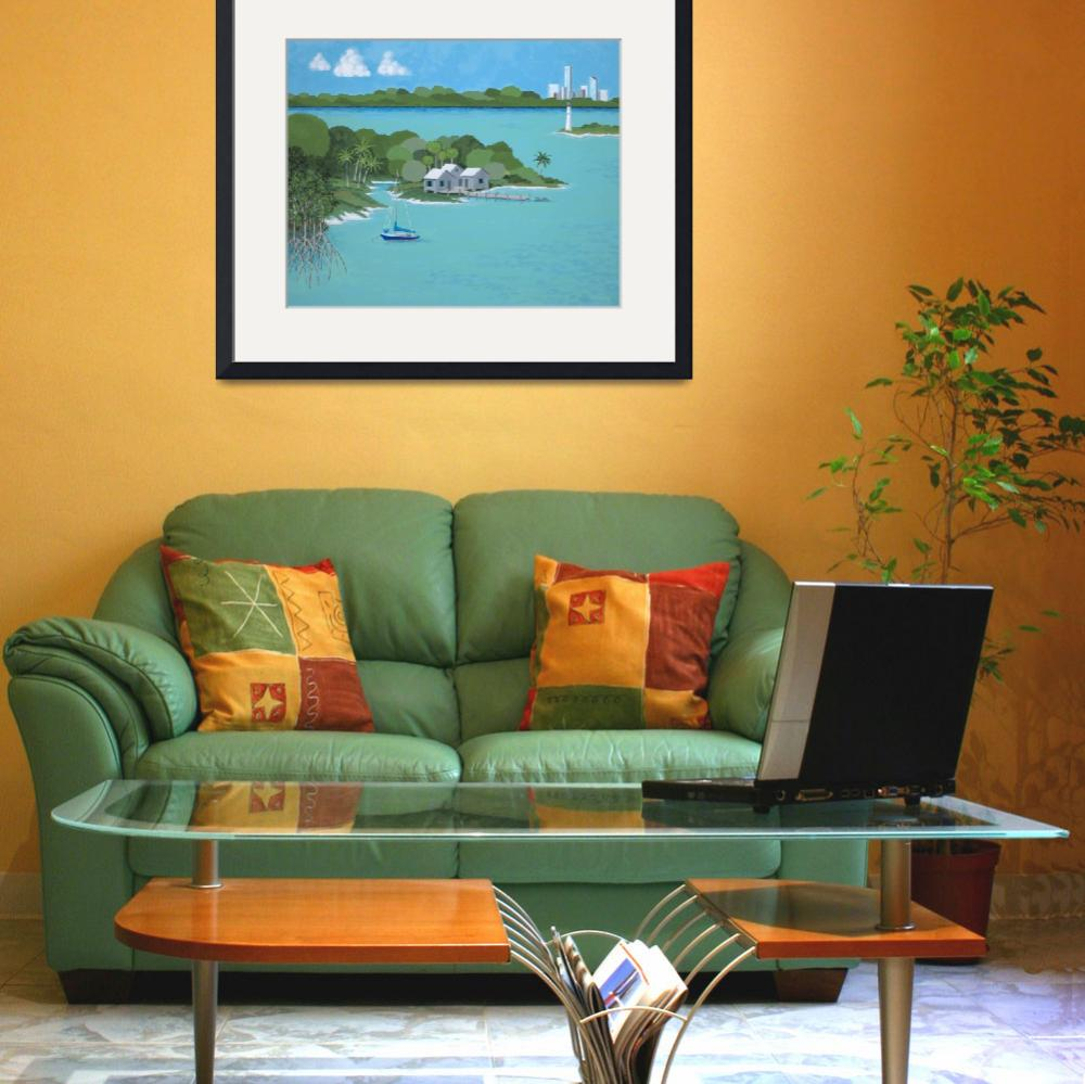 """""""Tropical Idyll&quot  (2009) by alembicdesigns"""