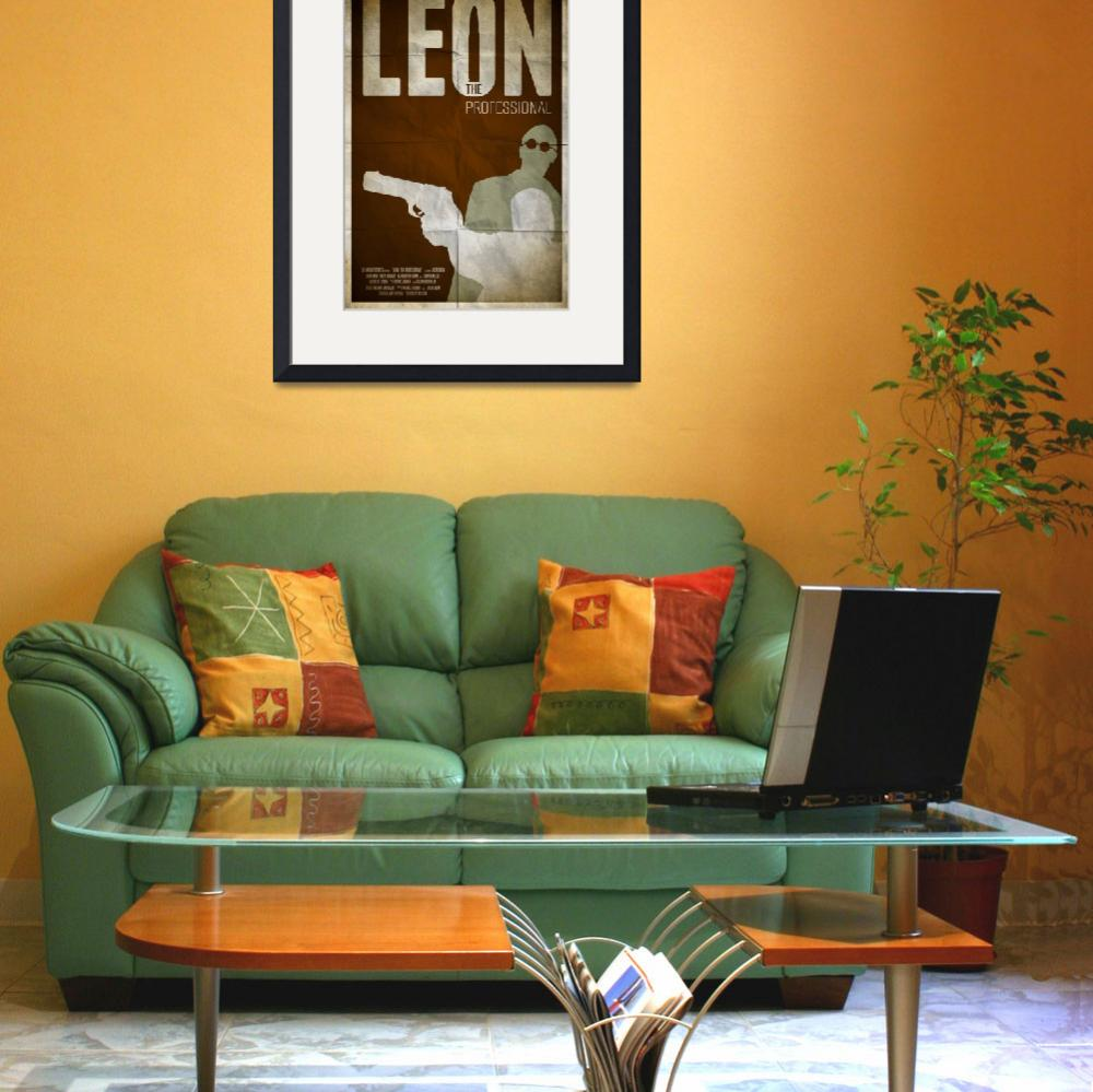 """""""Leon: The Professional&quot  (2013) by RyanBlackDesigns"""